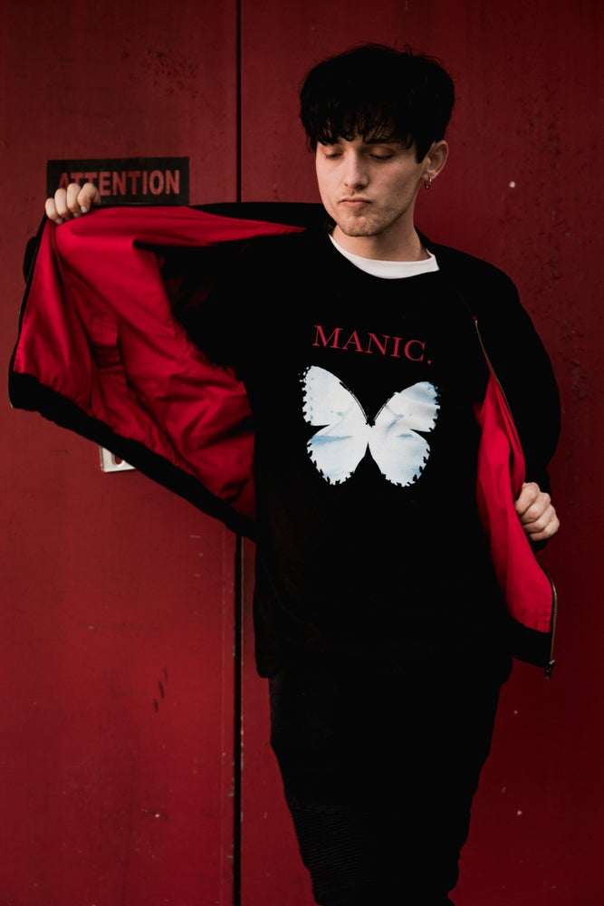 Image of Goth Butterfly Tee