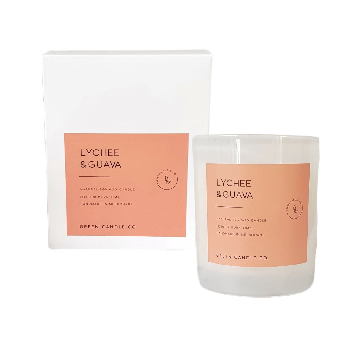 Image of LYCHEE & GUAVA Candle / Large