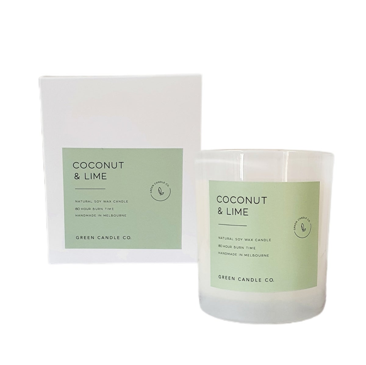 Image of COCONUT & LIME Candle / Large