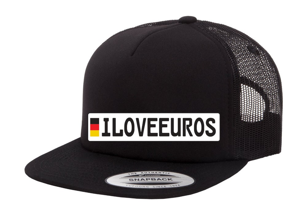 Image of iLOVEEUROS - Europlate hat