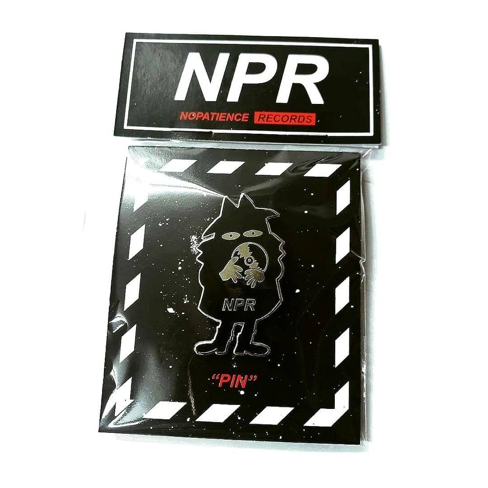 Image of NPR enamel pin