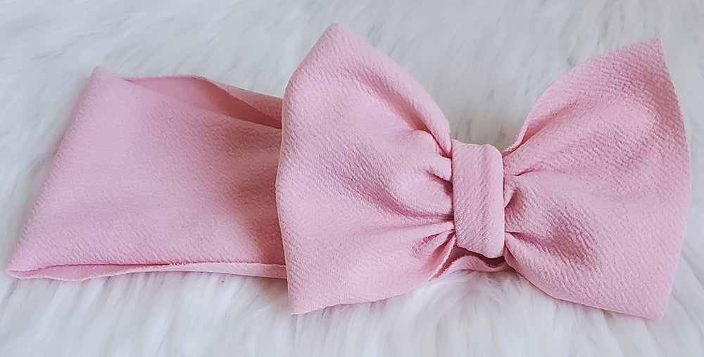 Image of Baby pink headwrap