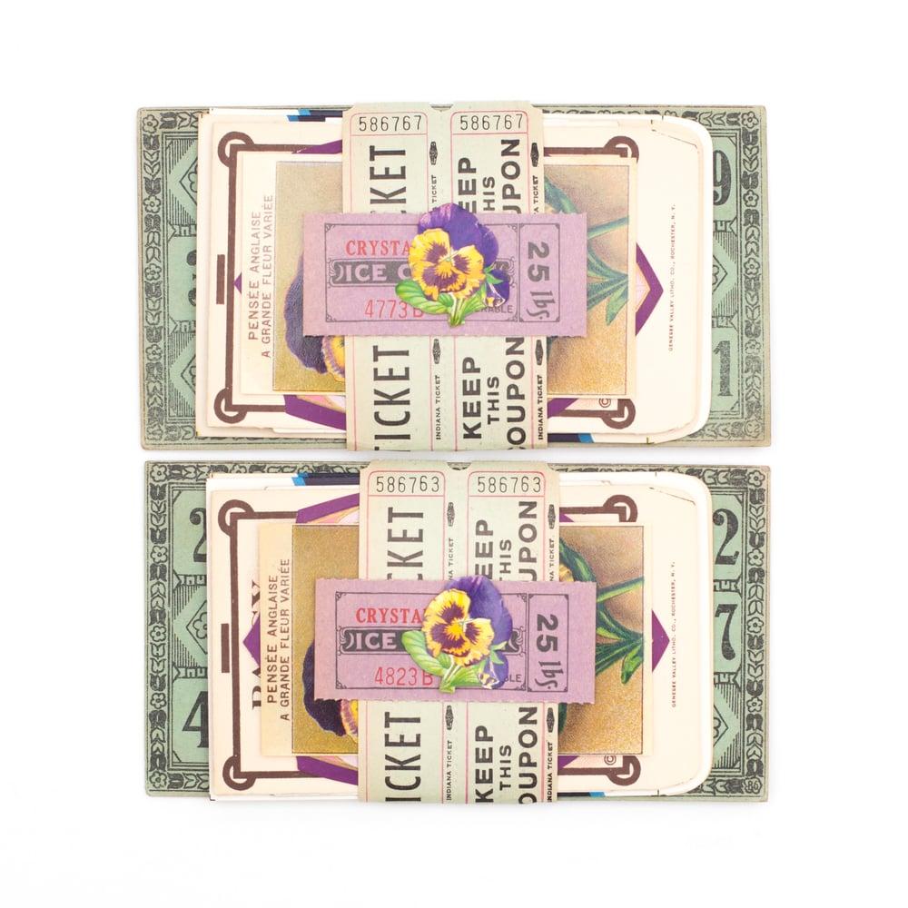 Image of Purple and Green Spring Ephemera Bundles
