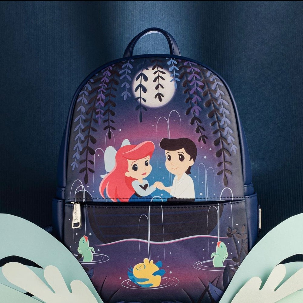 Image of Loungefly X Disney The Little Mermaid Gondola Scene Mini Backpack