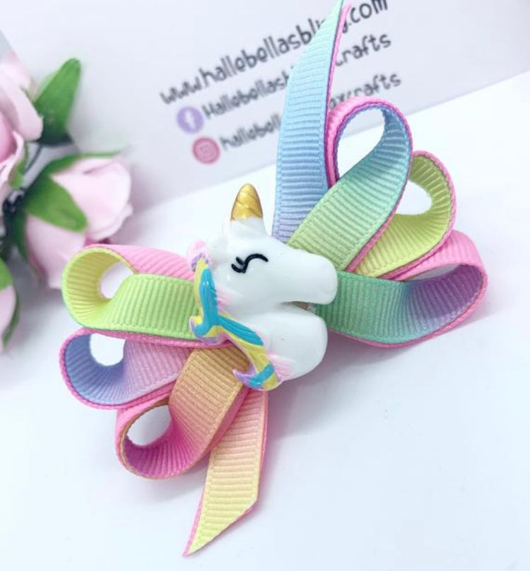 Image of Bella pastel rainbow unicorn