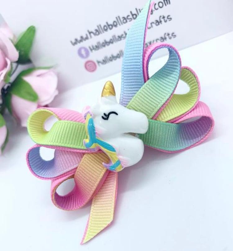 Image of Bella pastel rainbow unicorn