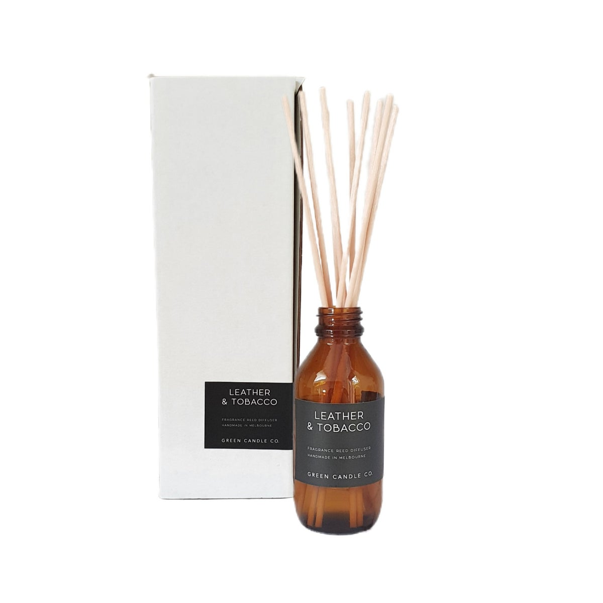 Image of LEATHER & TOBACCO / Reed Diffuser