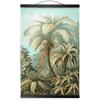 Filicinae | Retro Tropical Print | Palm tree Poster | Vintage Forest Landscape