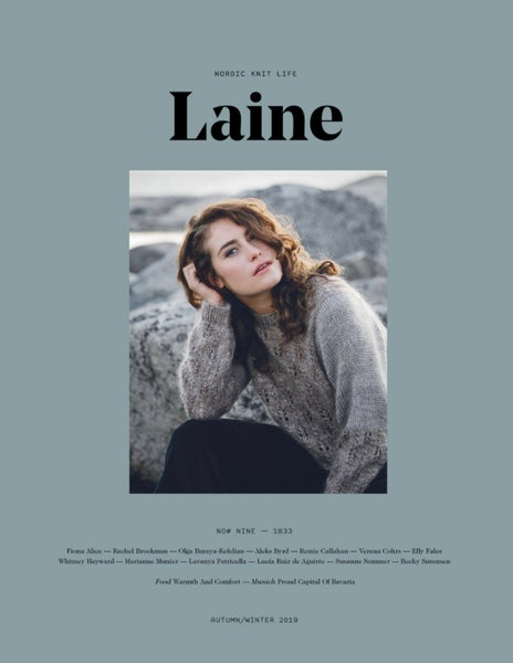 Image of Laine Magazine Issue 9