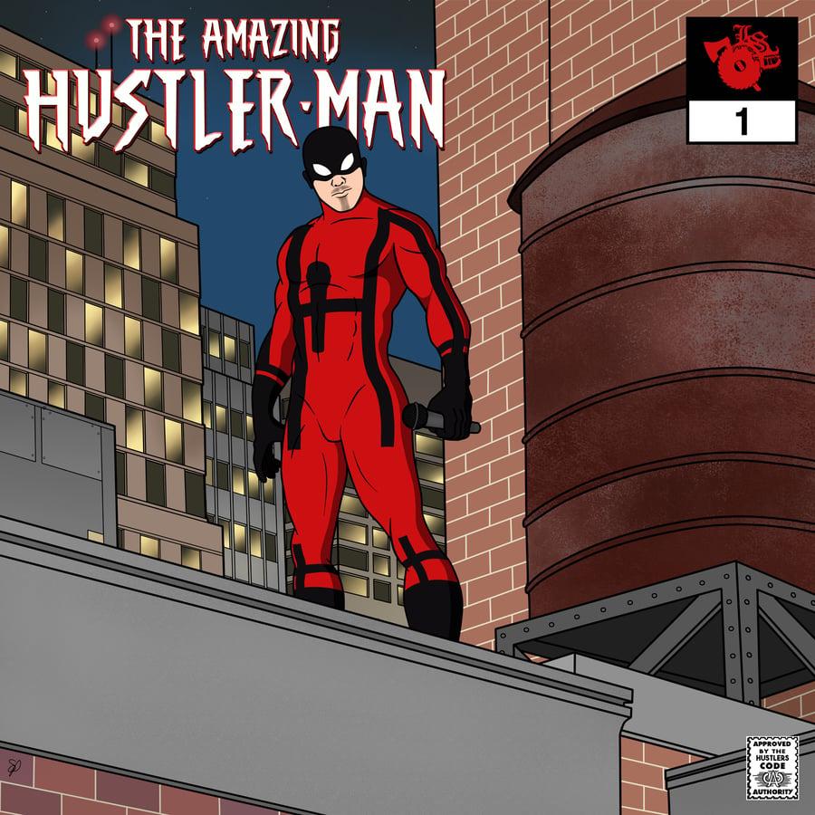 Image of JP THA HUSTLER: THE AMAZING HUSTLER- MAN  CD