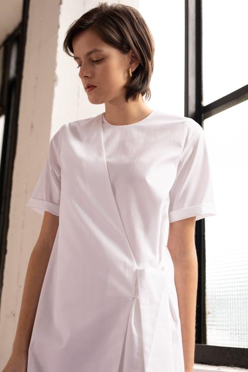 Image of UNIFORM Wrap Dress