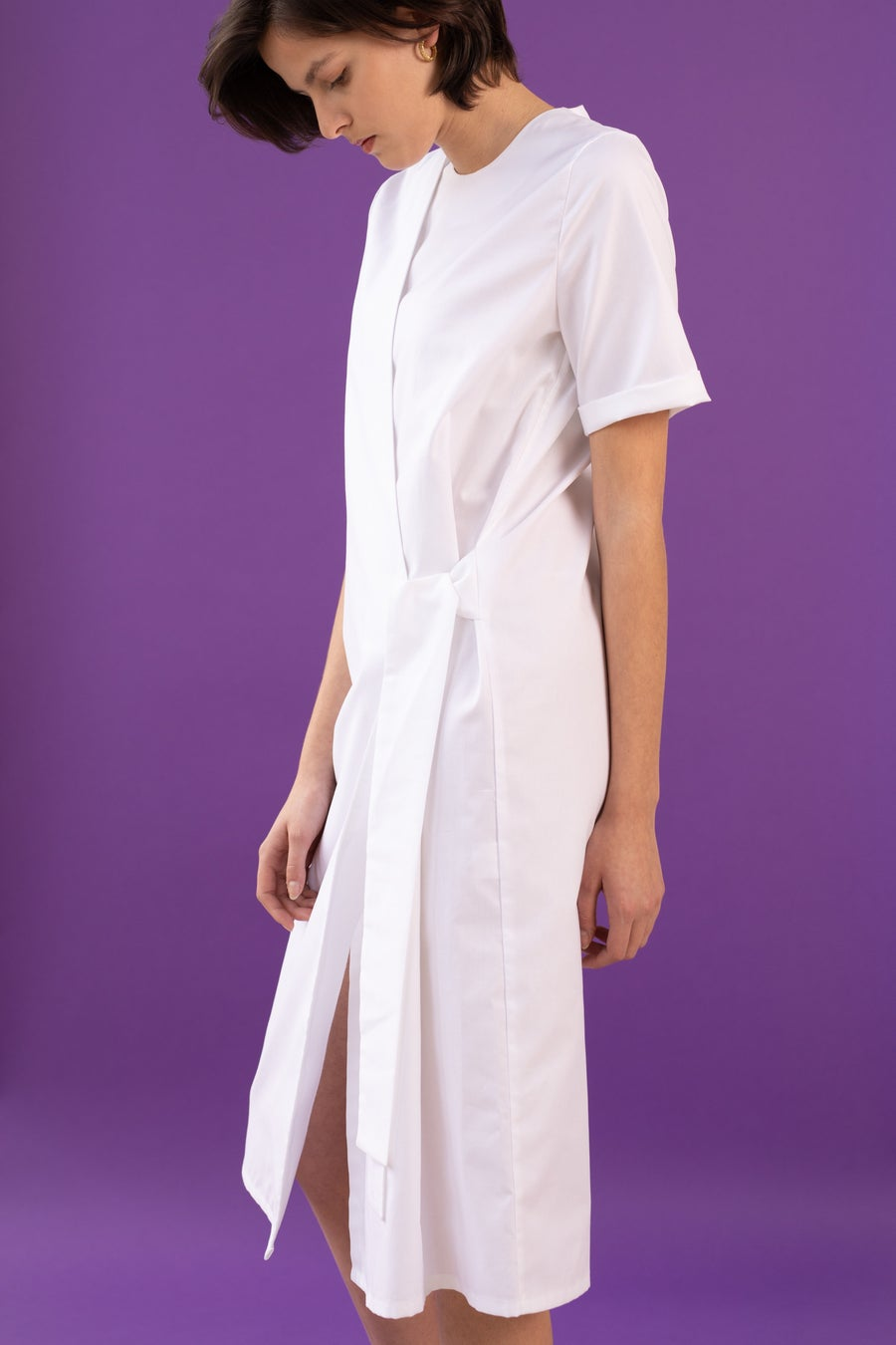 Image of UNIFORM Wrap Dress