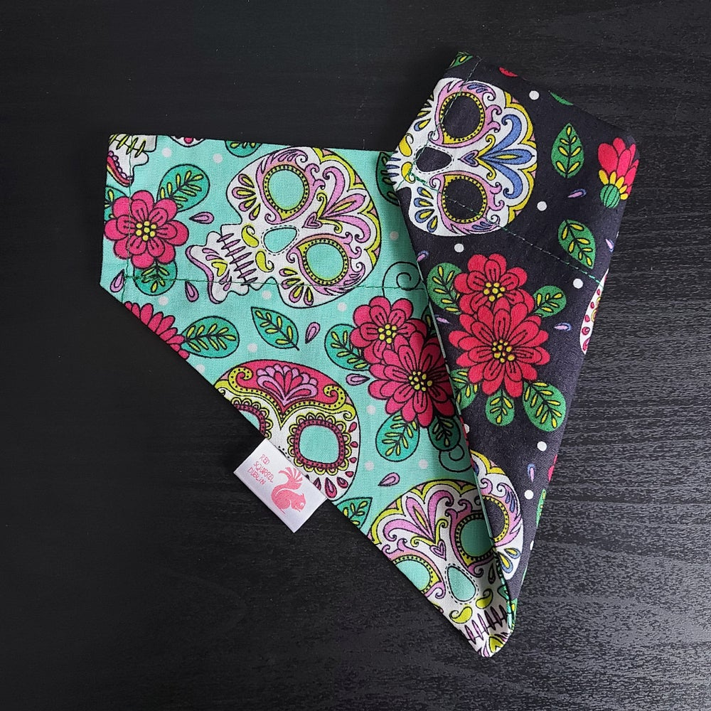 Image of Mexican skulls bandana