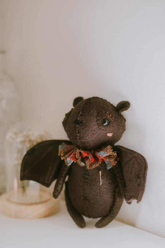Image of Griffin - bat doll / teddy collectable
