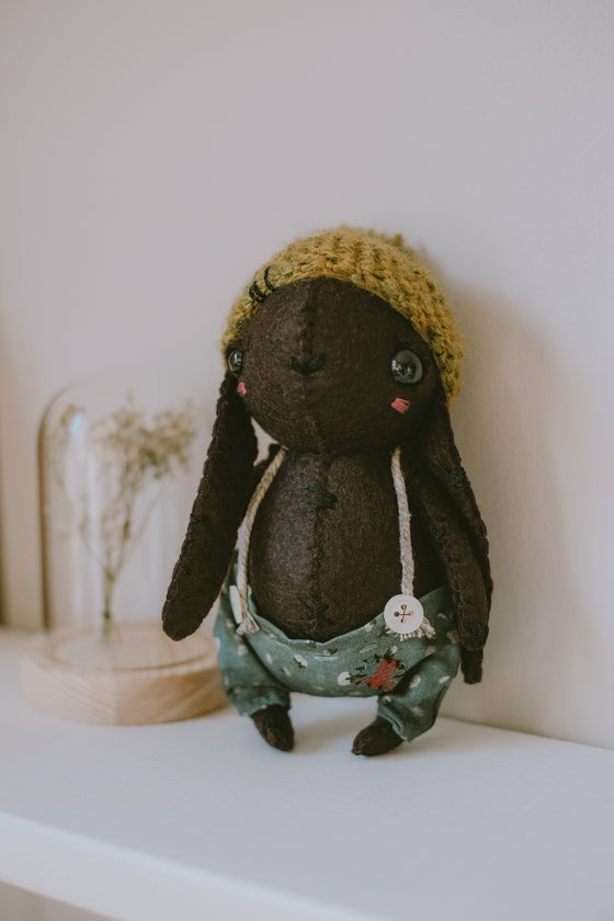 Image of Fizz - bunny doll / teddy collectable