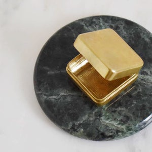 Image of Le Petit solid brass jewelry box