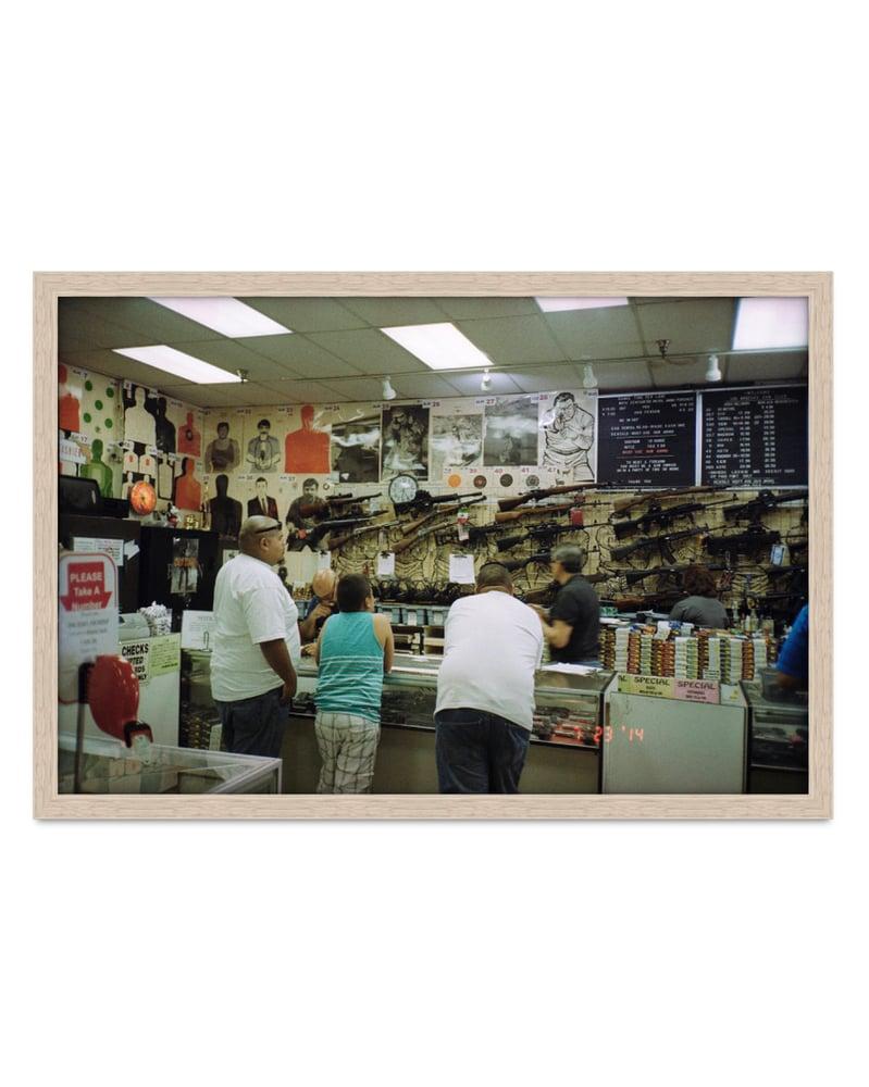 Image of Jesse Lizotte - 'LA Gun Club'. Original artwork