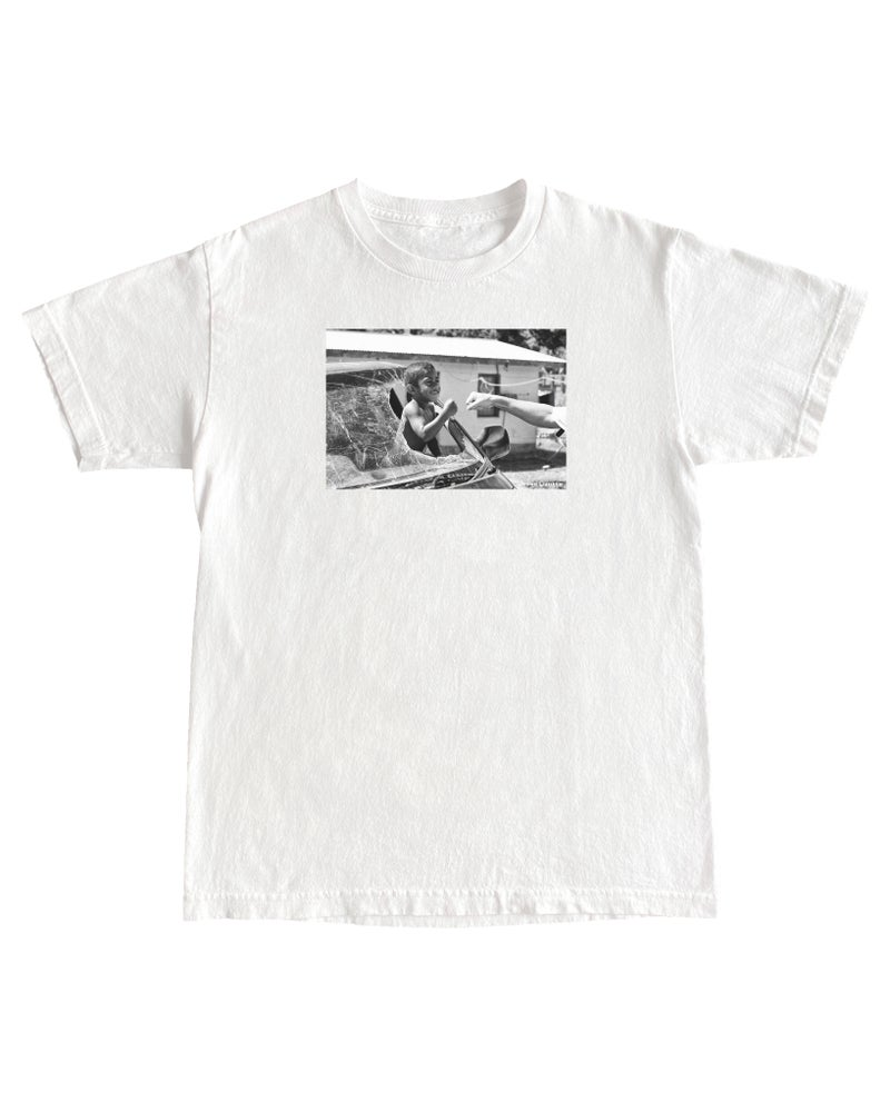 Image of Jesse Lizotte '… And It Felt Like Forever' White T-shirt