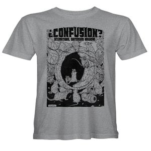 """Image of Confusion - """"Pipe Rats"""" t-shirt  [grey]"""