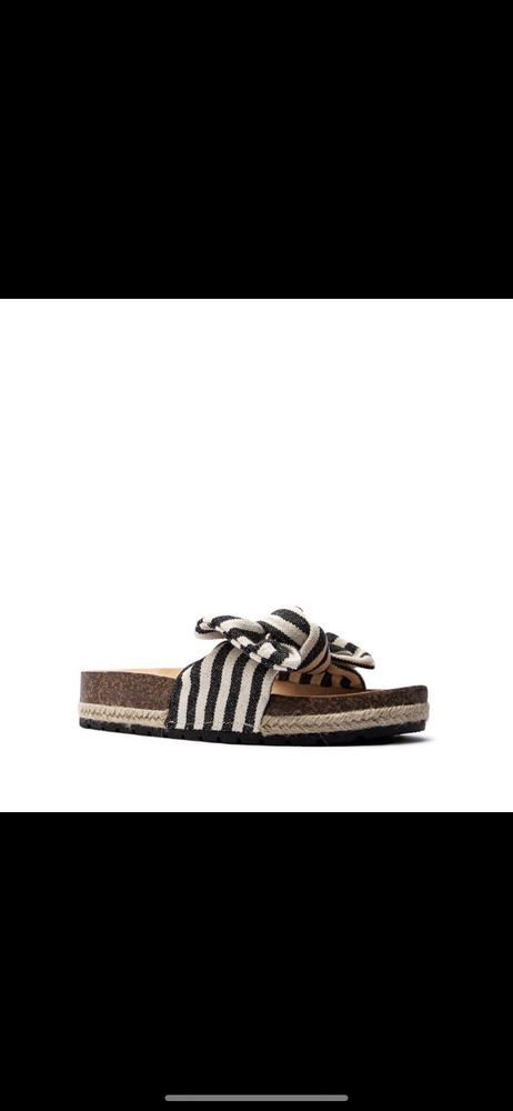 Image of Posh striped slide