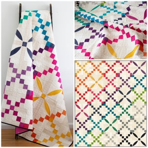 Image of Ombre Maypole quilt PDF