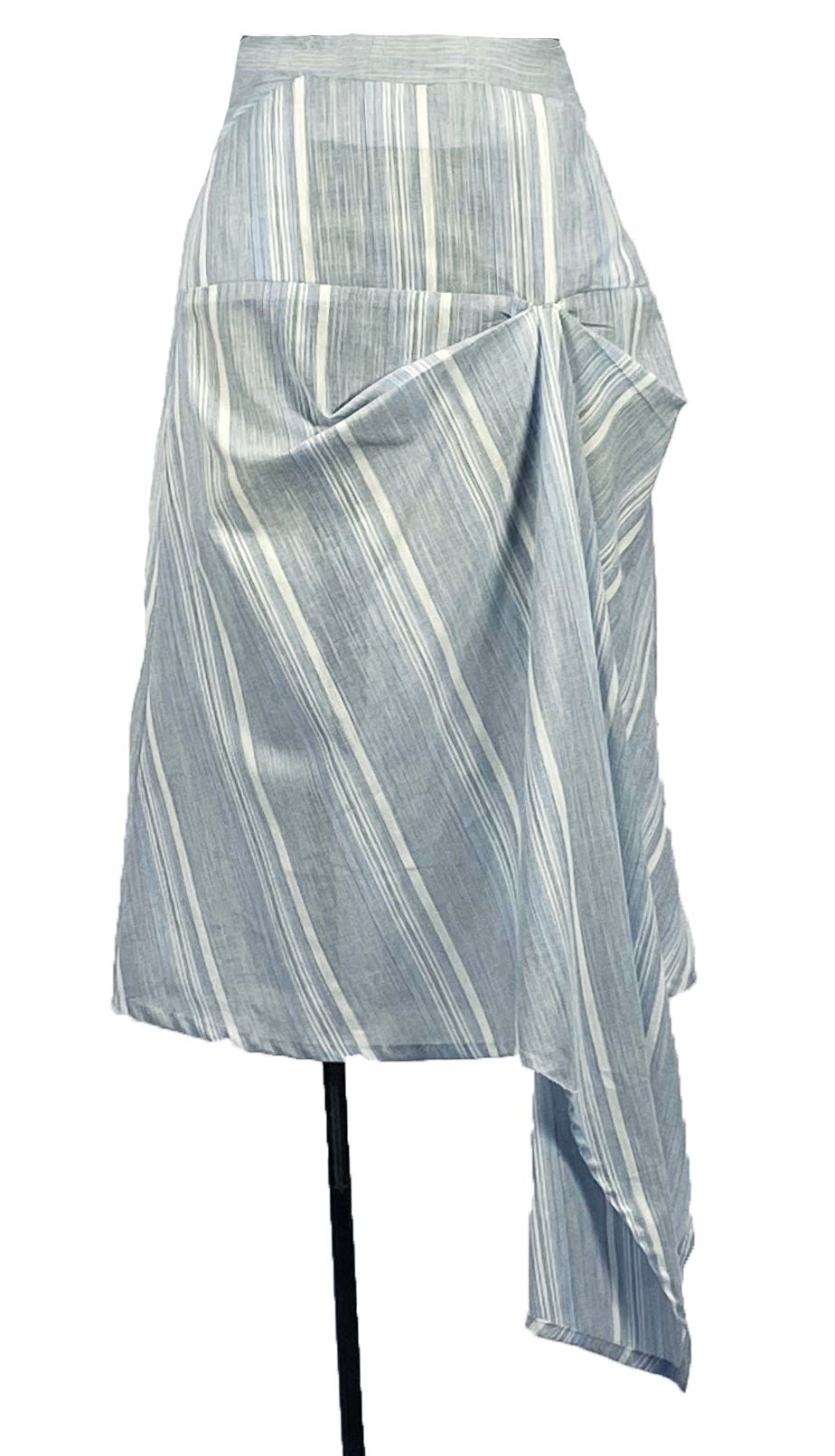 Image of Ronen skirt in stripe