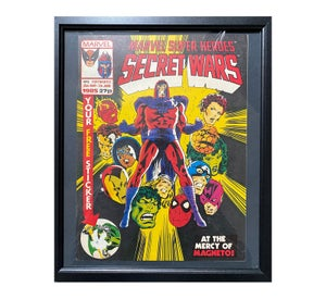 Marvel Secret Wars No3 Comic Framed