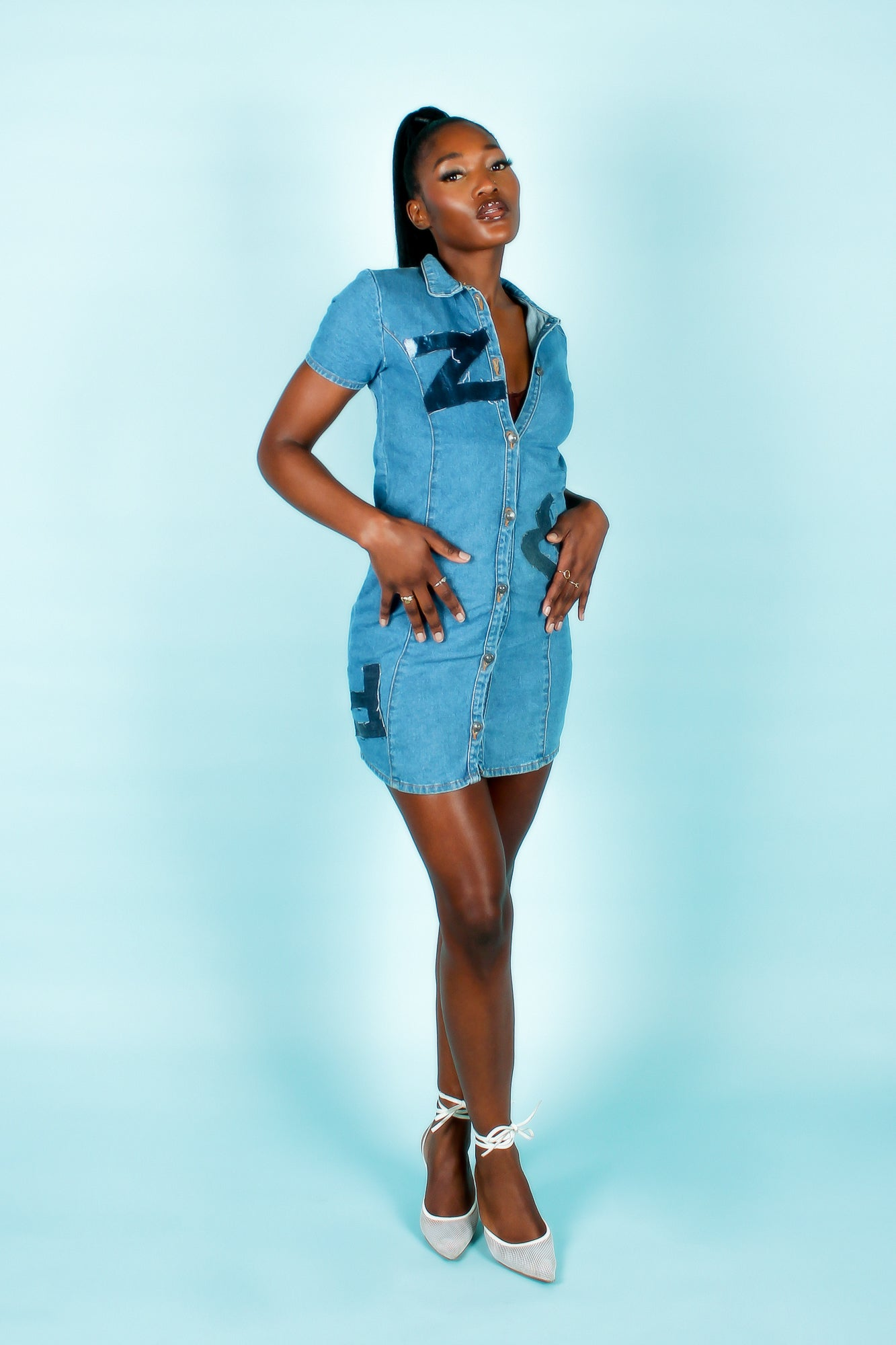 Image of 2002 'BLUFFY' DRESS