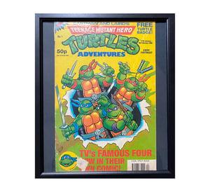 Teenage Mutant Hero Turtles No1 Comic Framed