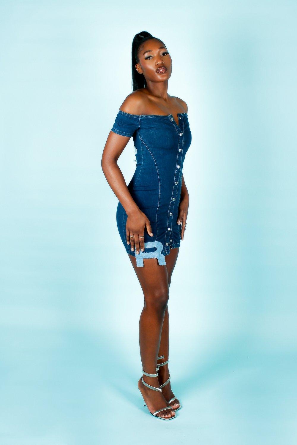 Image of 2002 'BITTY' DRESS