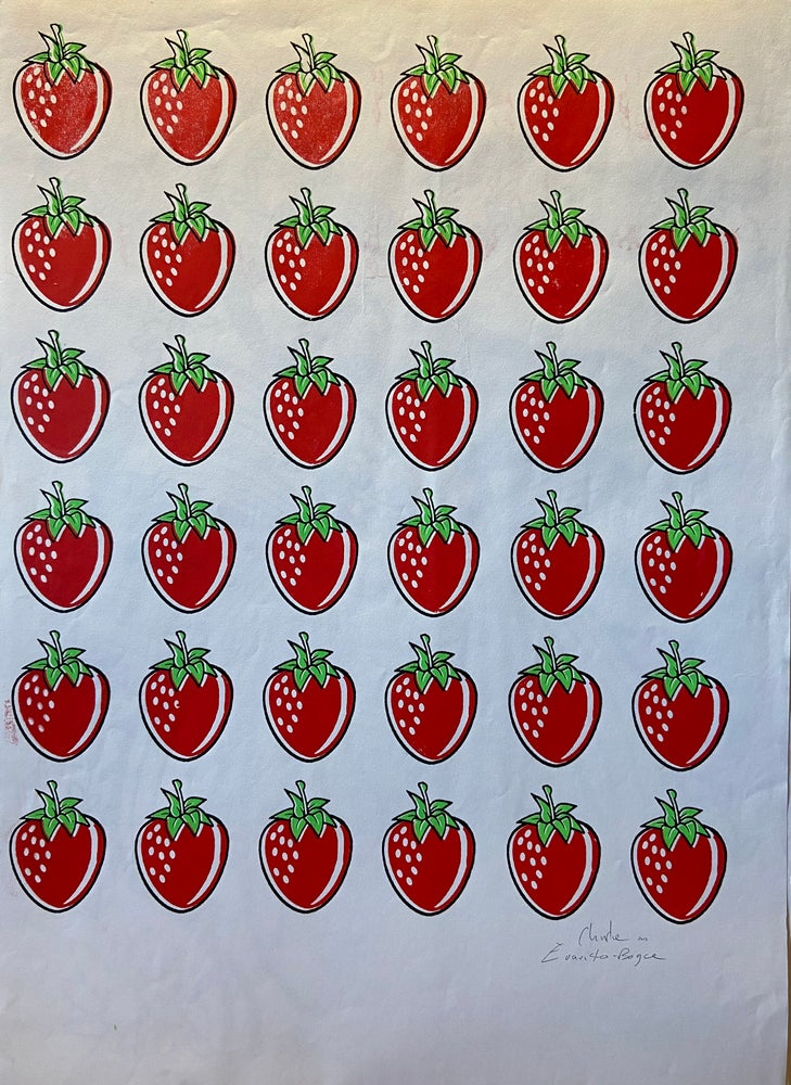Image of Just Strawberries (2015) by CEB