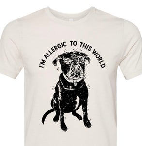 Image of Allergic T-shirt (preorder)