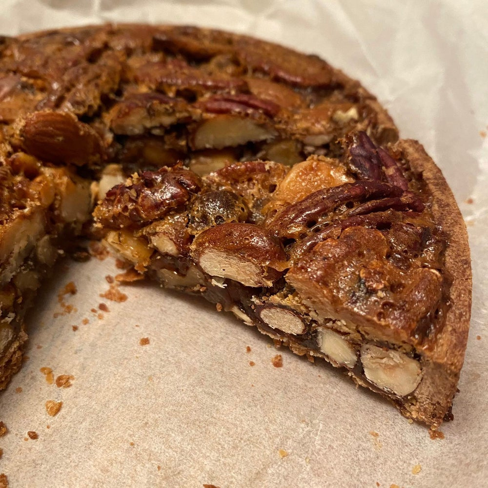 Image of Black Cat Bakes Pecan Tart