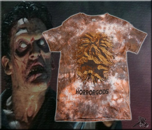"Image of ""SHIRT OF THE DEAD"" TIE DYE TEE"