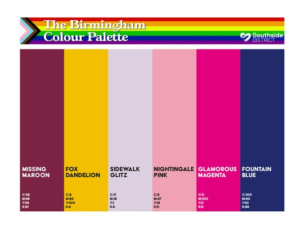 Image of Southside District Colour Palette 1