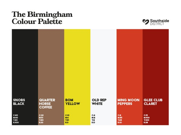Image of Southside District Colour Palette 3