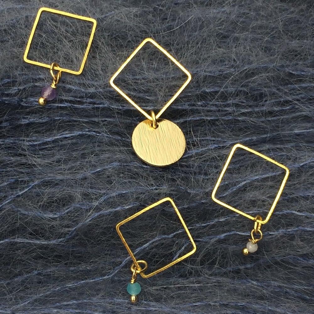 Image of Anneaux marqueurs carrés