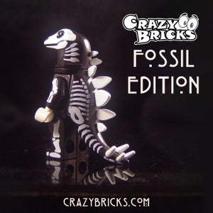 Image of Stegosaurus FOSSIL EDITION Dino Dudes!  Limited Stock!