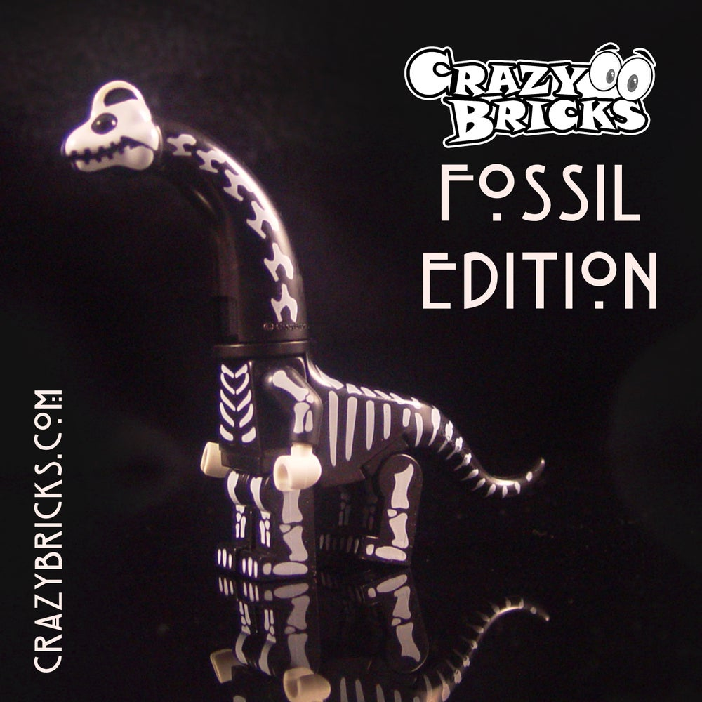 Image of Brachiosaurus FOSSIL EDITION Dino Dudes! Limited Stock!