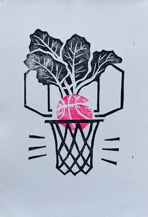 Image of Basketball. Buzzers. Beets.