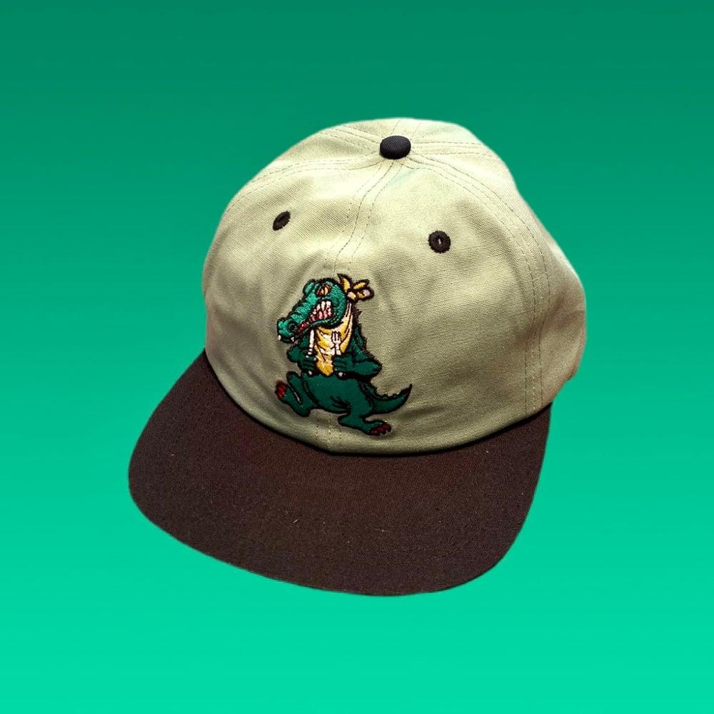 Image of Alligator 100% Natural Hemp Snapback Hat! 🐊