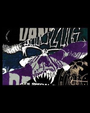 Image of Quad Danzig Skull 12x18