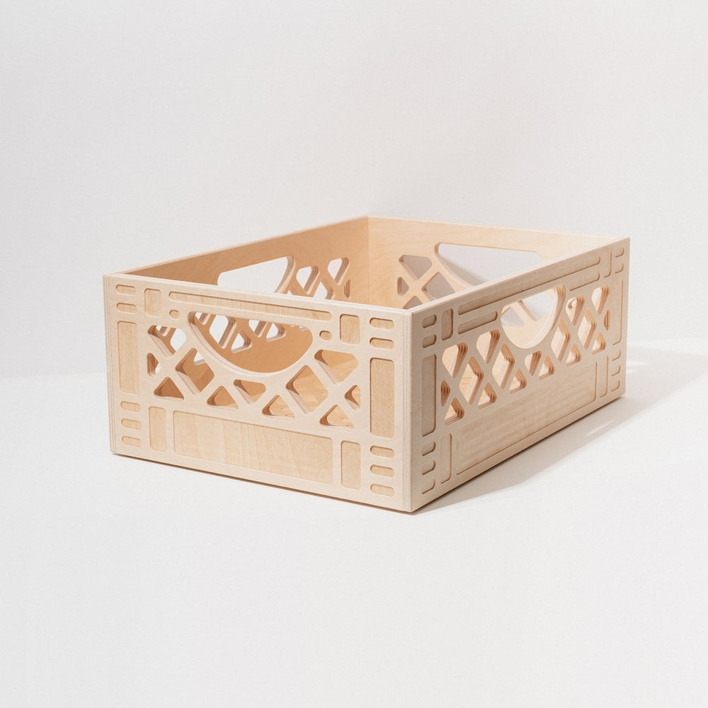 Image of WAAM Wooden Milk Crates-Short Long