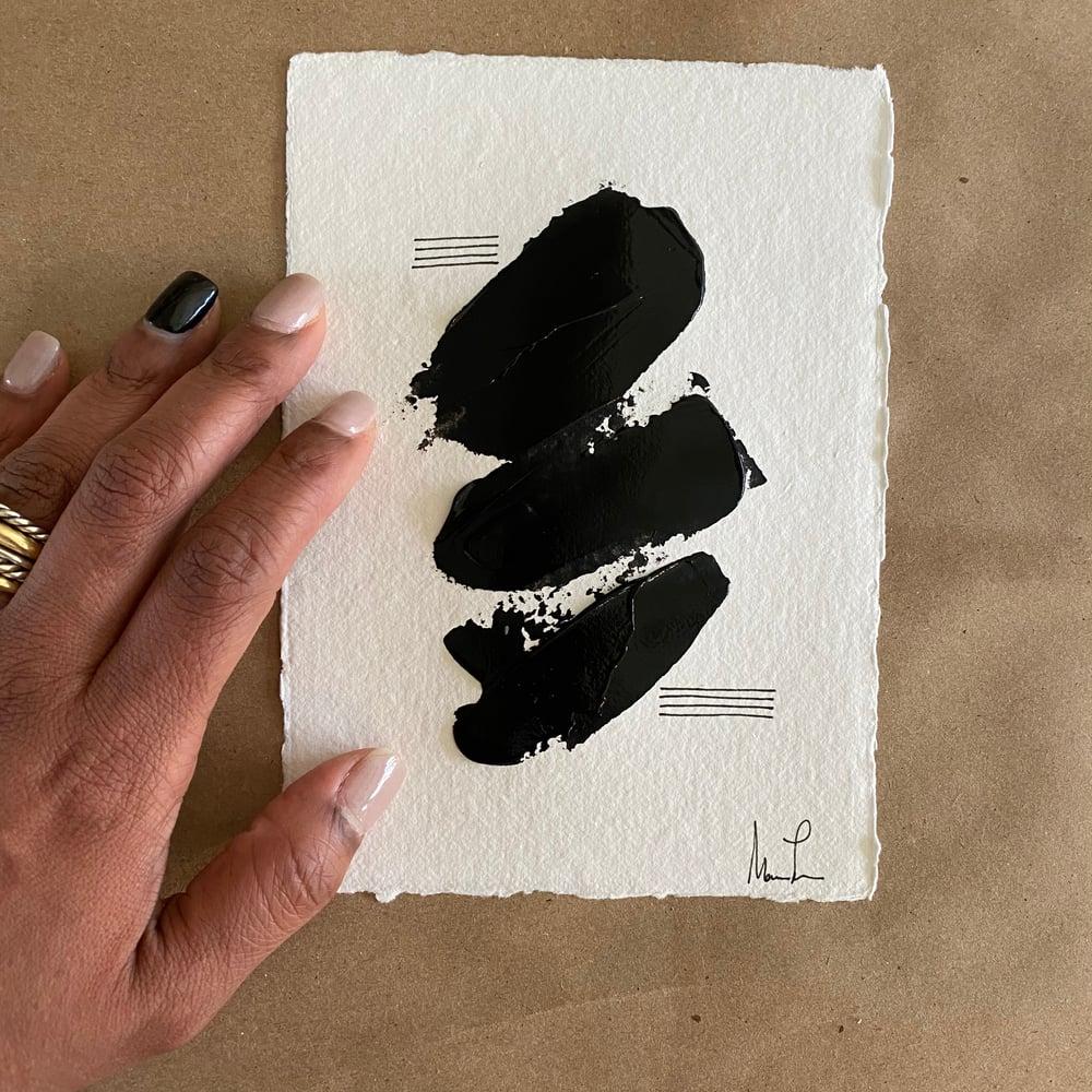 Image of Black Tie Cotton Rag (34)