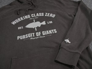Image of Pursuit of Giants Hood (FADED BLACK)
