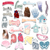 Full Body Pack (26 Color Stickers)