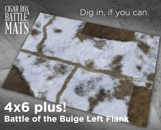 Image of Battle of the Bulge Left Flank #1030 -- 6'x4' plus