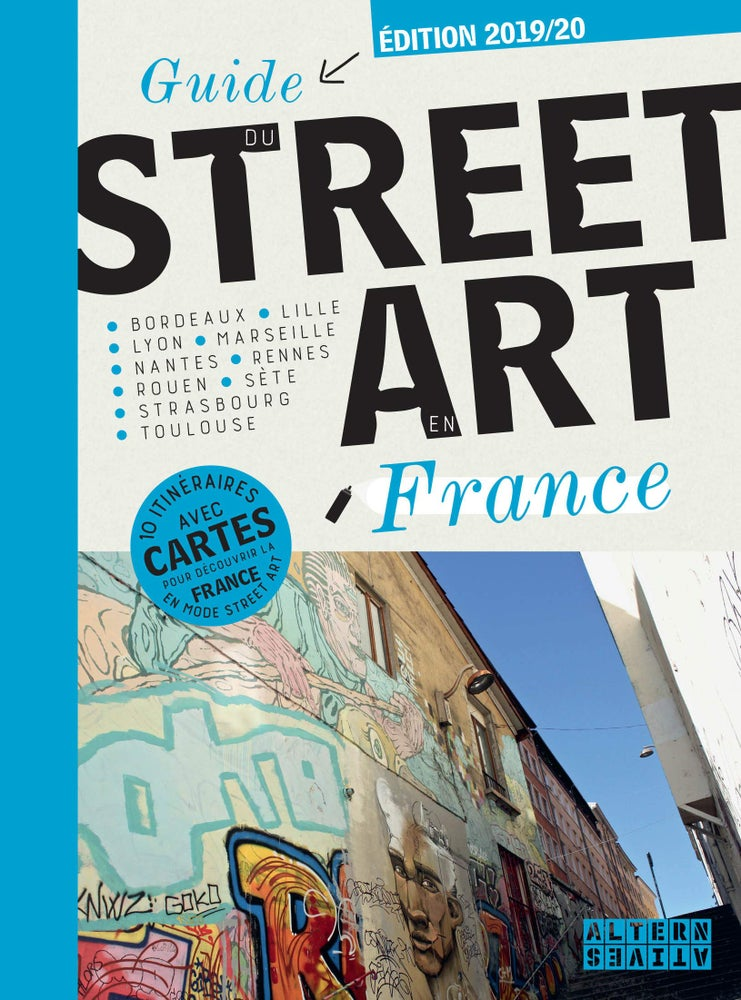 Image of Guide du street art en France – 28 mars 2019