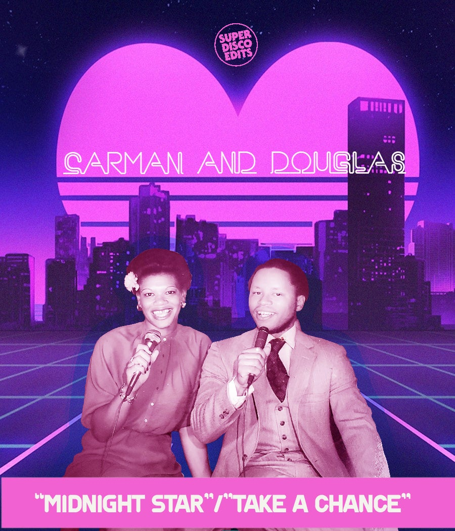 "Carman Bryant & Douglas Payne ""Midnight Star""/""Take a chance"" Phase 5 PROMOS"