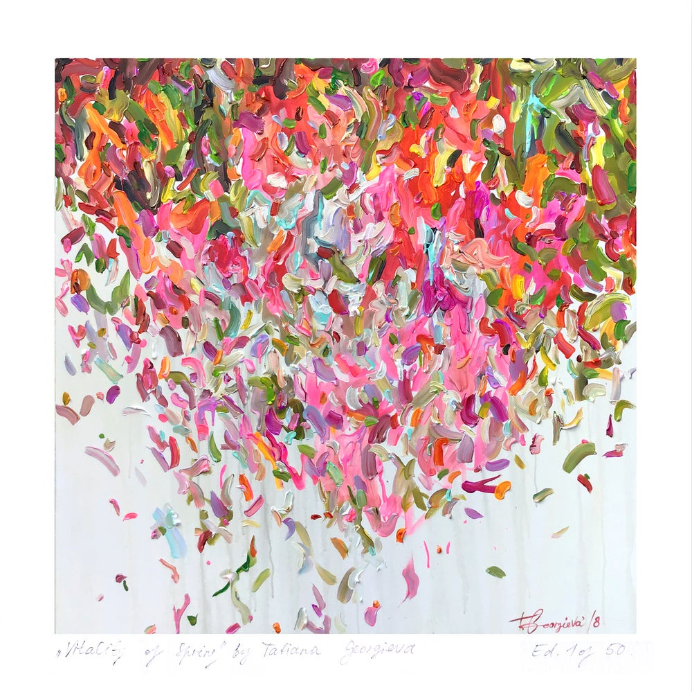 Image of 'Abstract no.207' - small limited edition print
